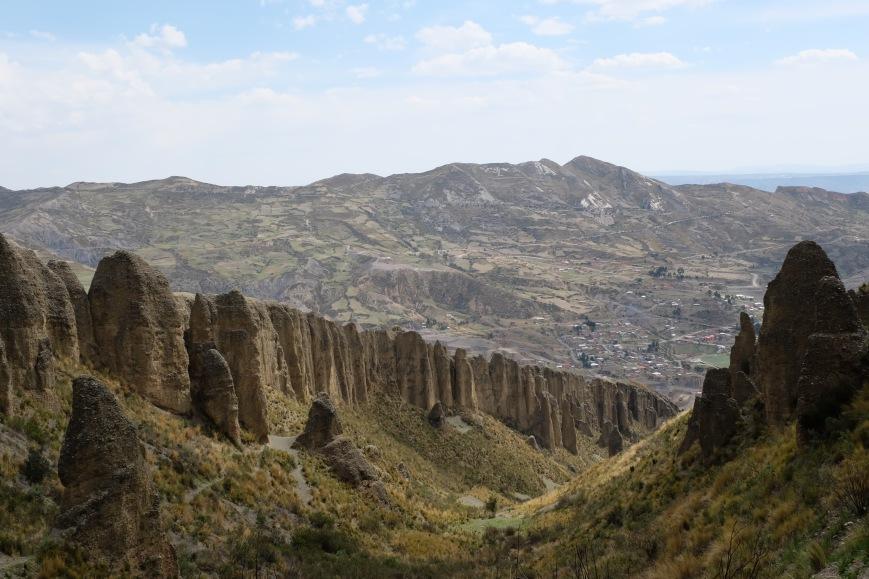Valle de las animas in La Paz Bolivia
