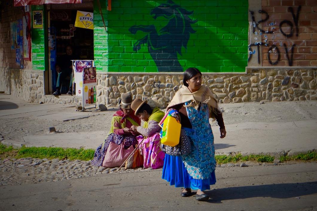 Cholita Women La Paz Bolivia