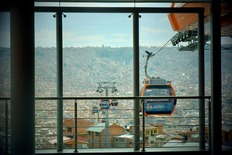 Mi Teleférico La Paz Bolivia Cable Car System