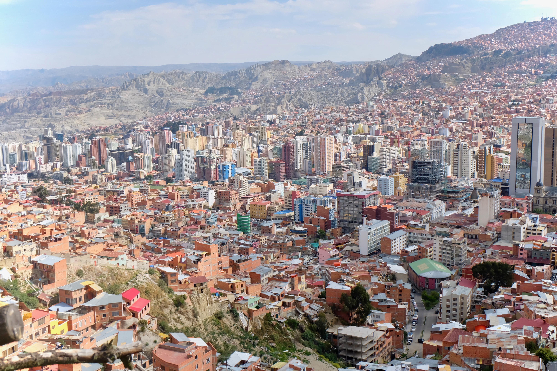La Paz Bolivia Skyline