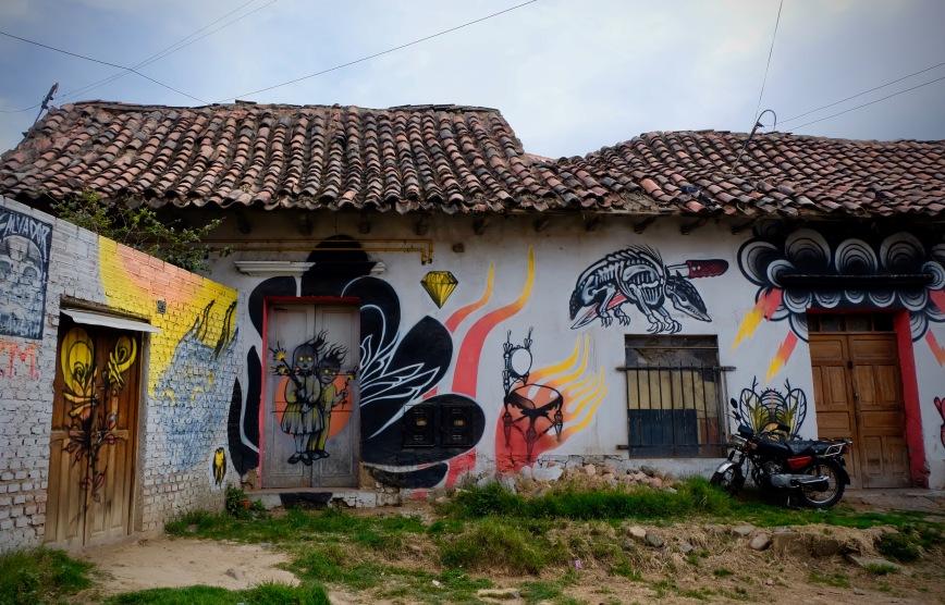Cochabamba Bolivia Street Art Graffiti