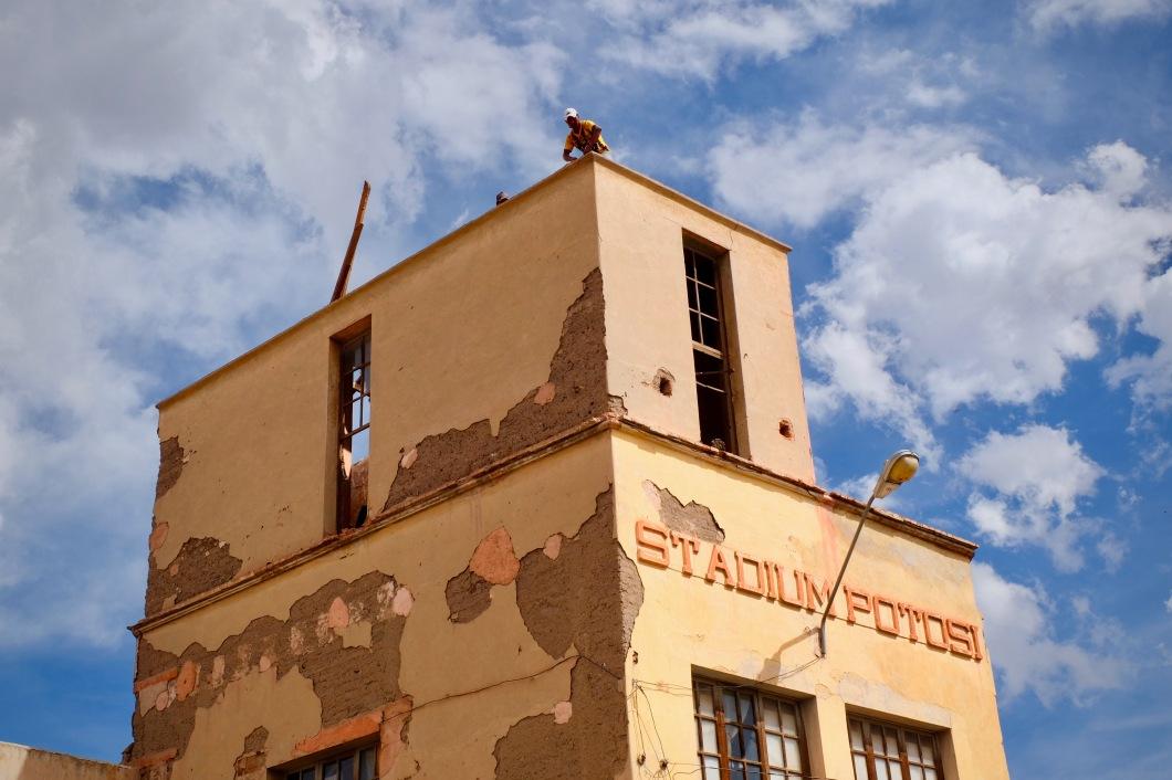 Potosi Bolivia Building Against Sky
