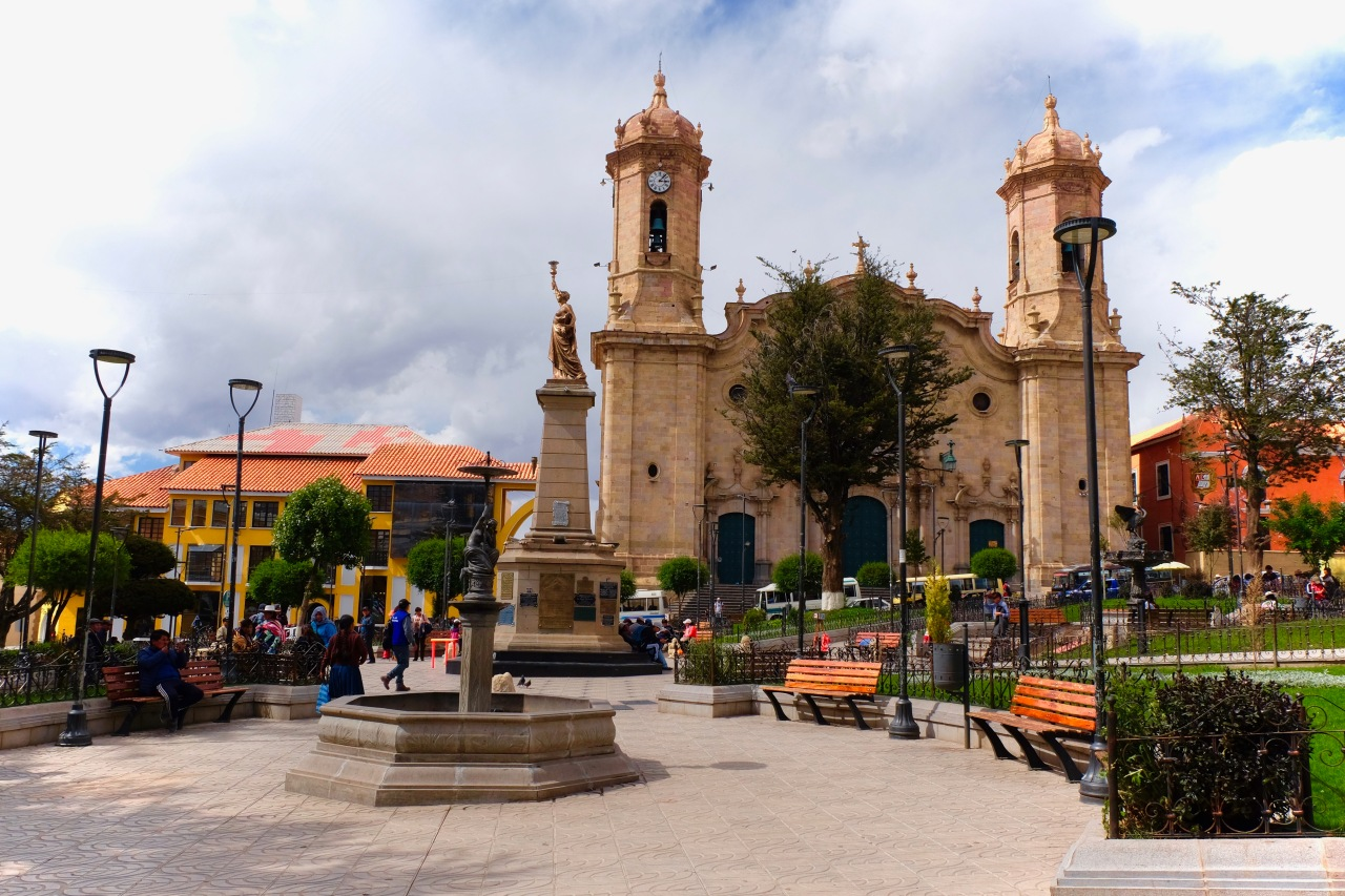 Potosi Bolivia City Center Main Plaza