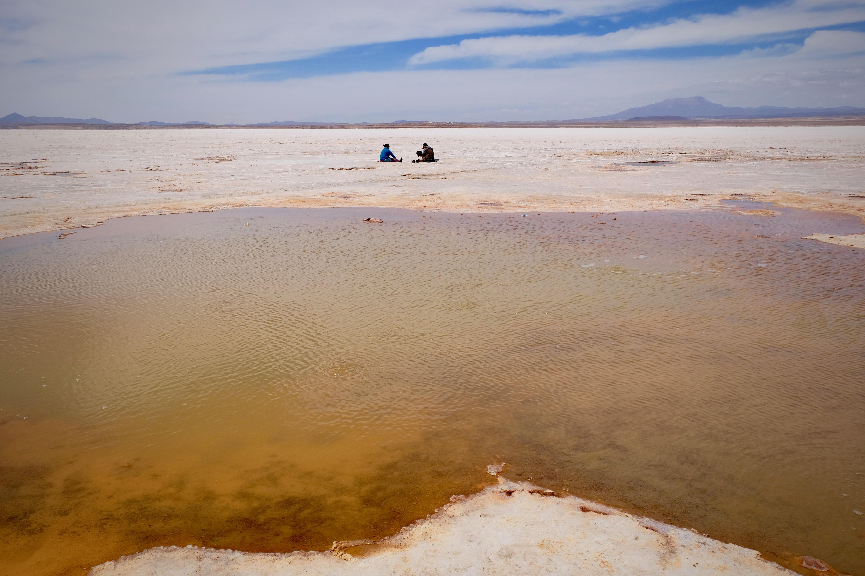 Ojos del Salar Uyuni Bolivia