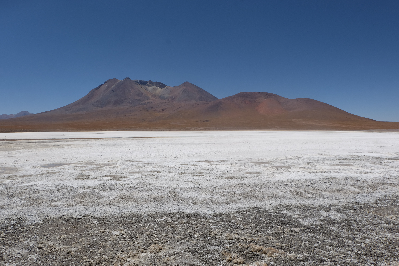 white salt lake Uyuni Bolivia Atacama