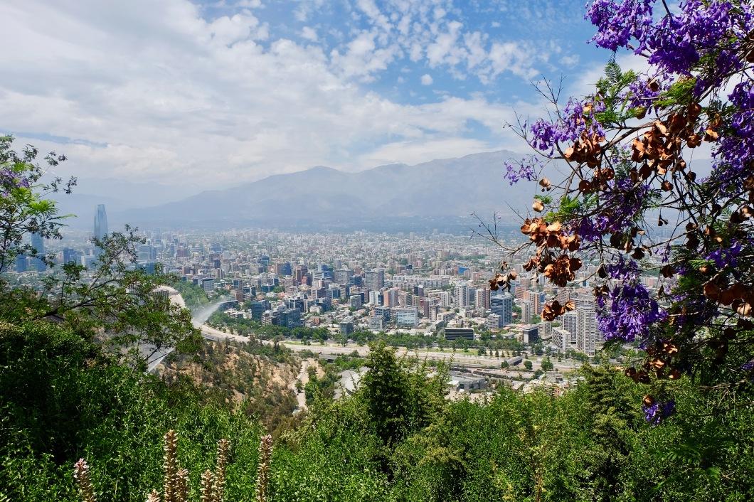 Santiago Chile Cerro de San Cristobal