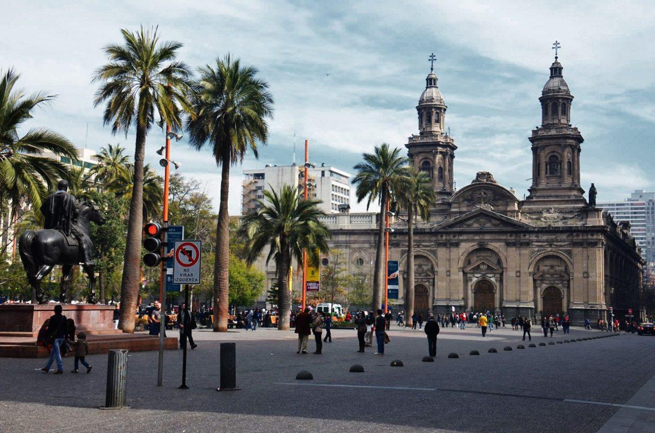 plaza de armas santiago chile